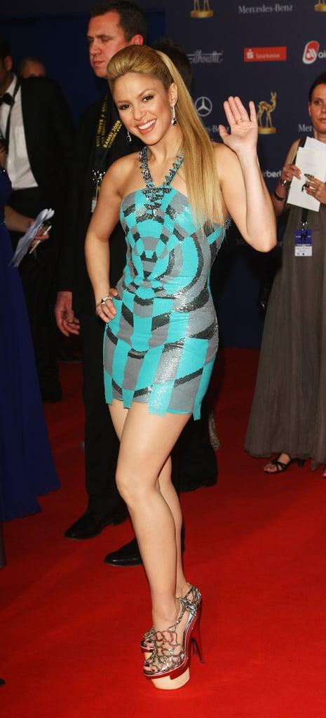 Photos of Kate Winslet and Shakira at Bambi Award 2009