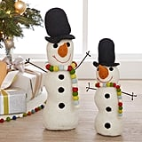 Merry and Bright Snowman Hearth Plush