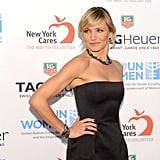 Cameron Diaz wore a black Lanvin dress.
