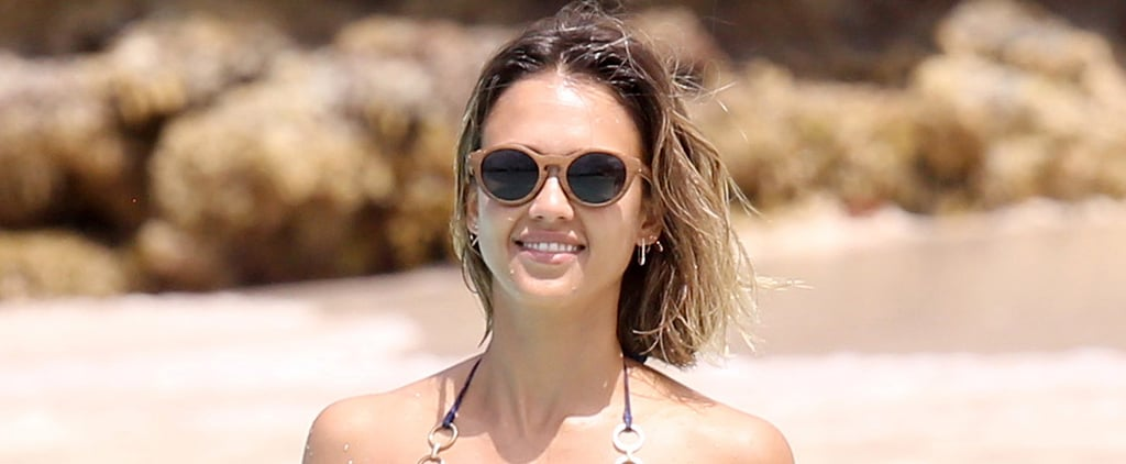 Jessica Alba Continues Her Bikini-Filled Caribbean Vacation