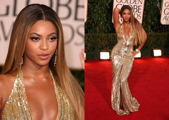 The Golden Globes Red Carpet: Beyonce