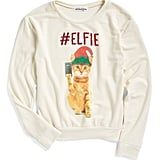 Ten Sixty Sherman #Elfie Graphic Sweatshirt ($32)
