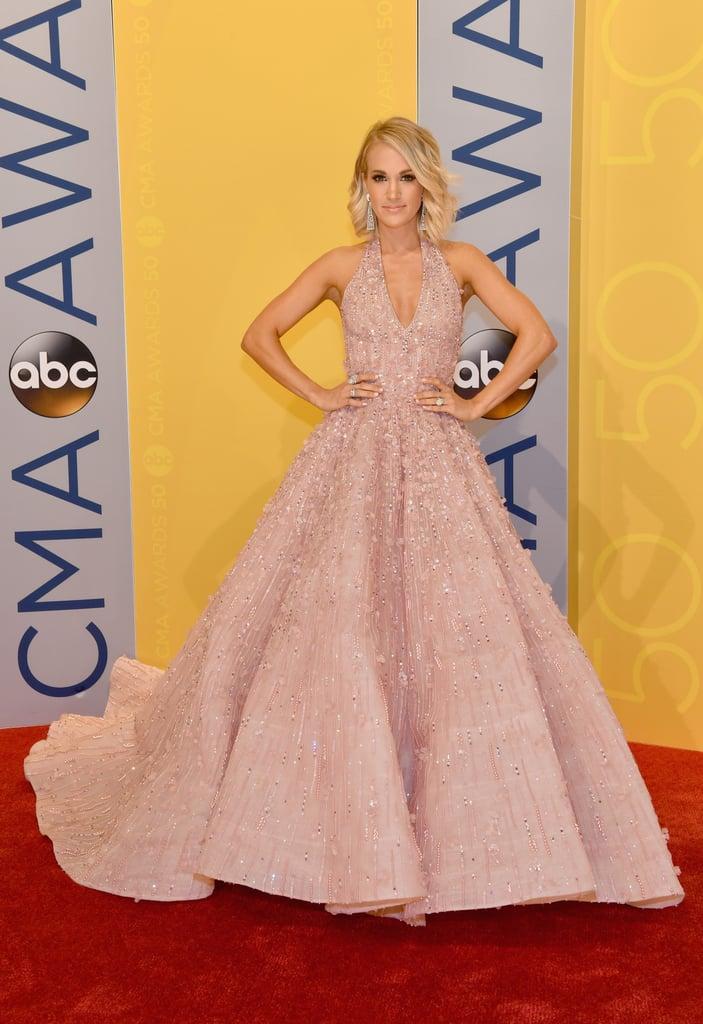 Carrie Underwood Dresses At The Cma Awards 2016 Popsugar