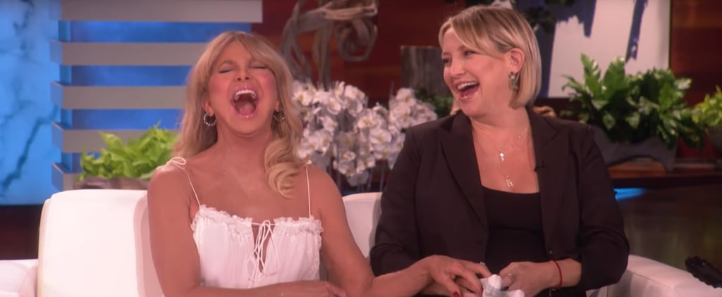 Kate Hudson and Goldie Hawn Talking About Vaginas on Ellen