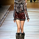 Milan Fashion Week: D&G Fall 2010