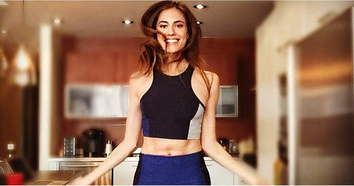 Allison Williams on Pilates in Harper's Bazaar | POPSUGAR ...