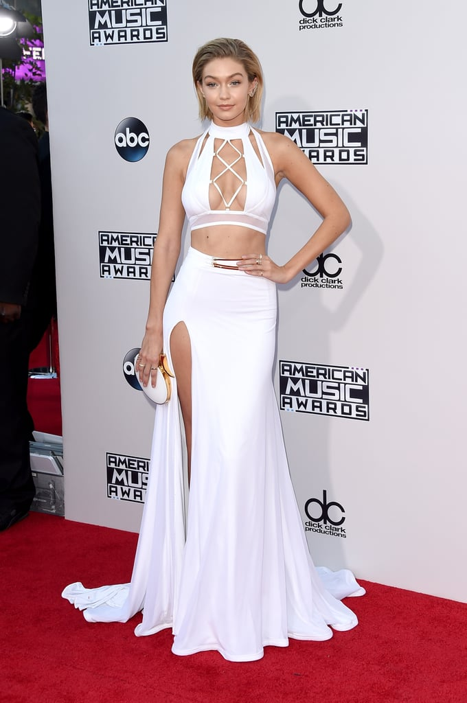 Gigi Hadid's Style at the 2015 American Music Awards