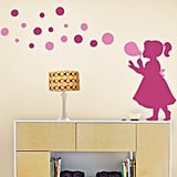Bubble Girl Decal