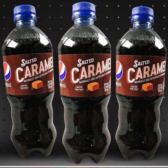 Salted Caramel Pepsi