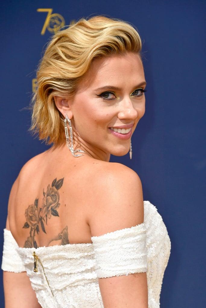 Scarlett Johansson's Dress at the 2018 Emmys