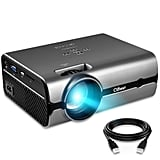Projector, CiBest Video Portable Projector