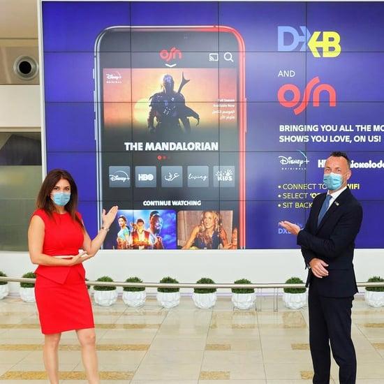 مطارات دبي تعقد شراكة مع OSN لتقديم محتوى مجاني لمسافريها
