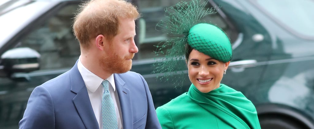 Prince Harry and Meghan Markle at Commonwealth Day 2020