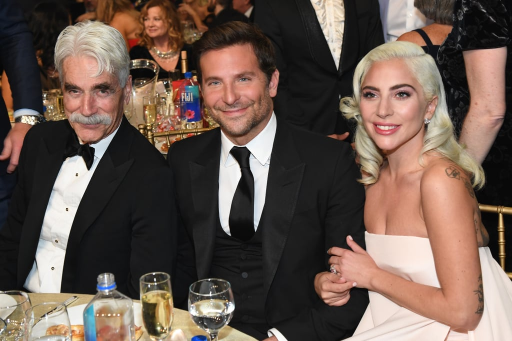 Pictured: Sam Elliott, Bradley Cooper, and Lady Gaga