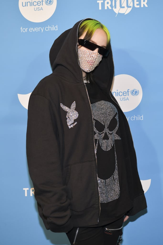 Billie Eilish at the 2019 UNICEF Masquerade Ball