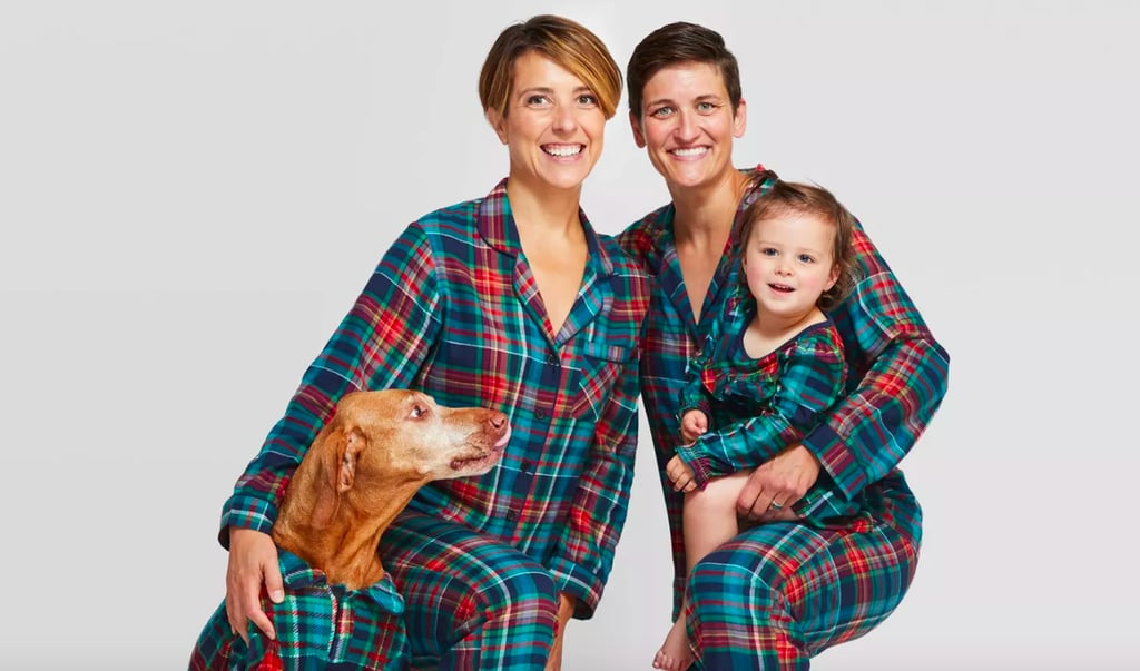 Family Christmas Pajamas Including Dog.Best Matching Family Pajamas At Target Popsugar Family