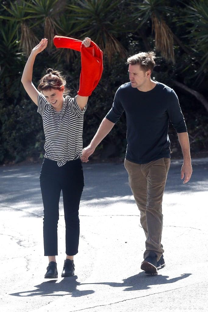 Emma Watson Is Dating Chord Overstreet