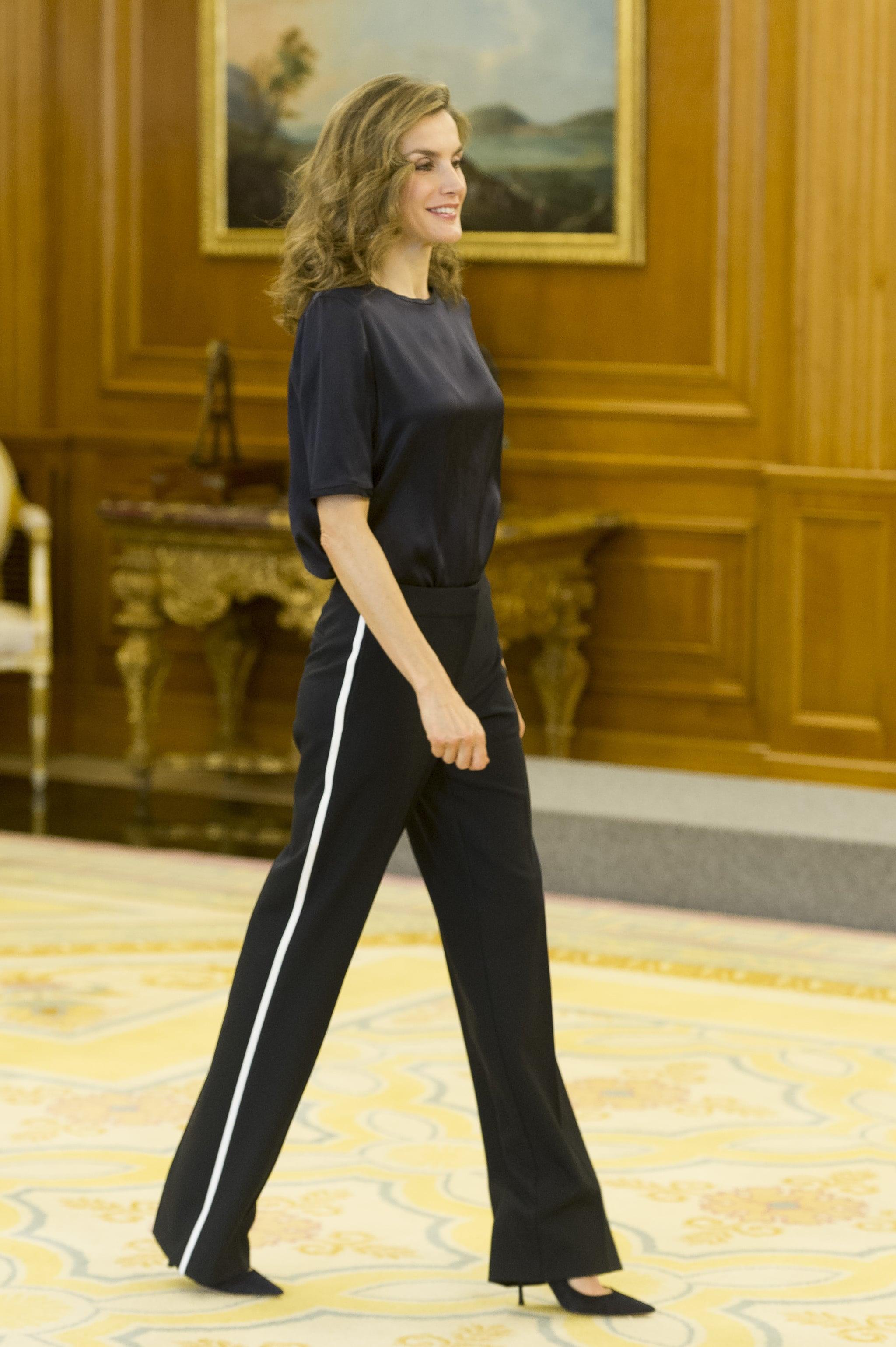 queen letizia u0026 39 s track pants