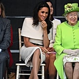 Meghan Markle and Queen Elizabeth II Pictures