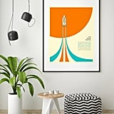 The Space Shuttle Minimal Pop Art