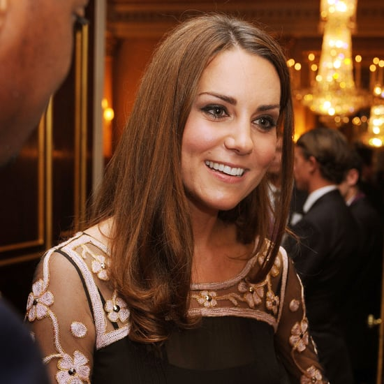 Kate Middleton at a Royal Reception For Team GB
