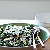 Easy Vegetarian Recipe: Kale Salad With Pecorino and Pine Nuts
