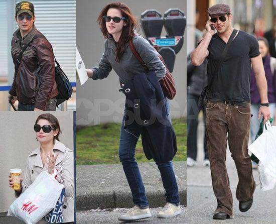 Exclusive Photos of Kristen Stewart, Peter Facinelli, Kellan Lutz, Ashley Greene of New Moon