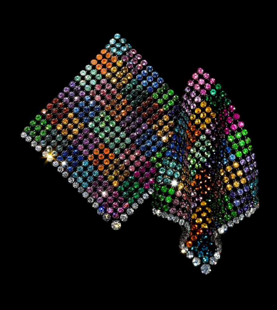 JAR Multicolored Handkerchief Earrings, 2011