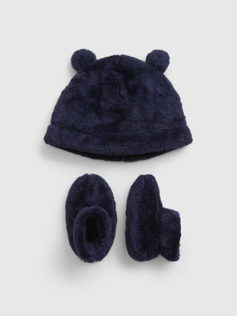 Gap Baby Hat and Bootie Set