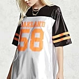 Forever 21 Oakland Football Jersey