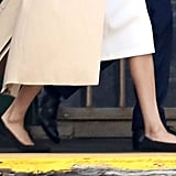 Meghan Markle Wearing Flats Oct. 2018