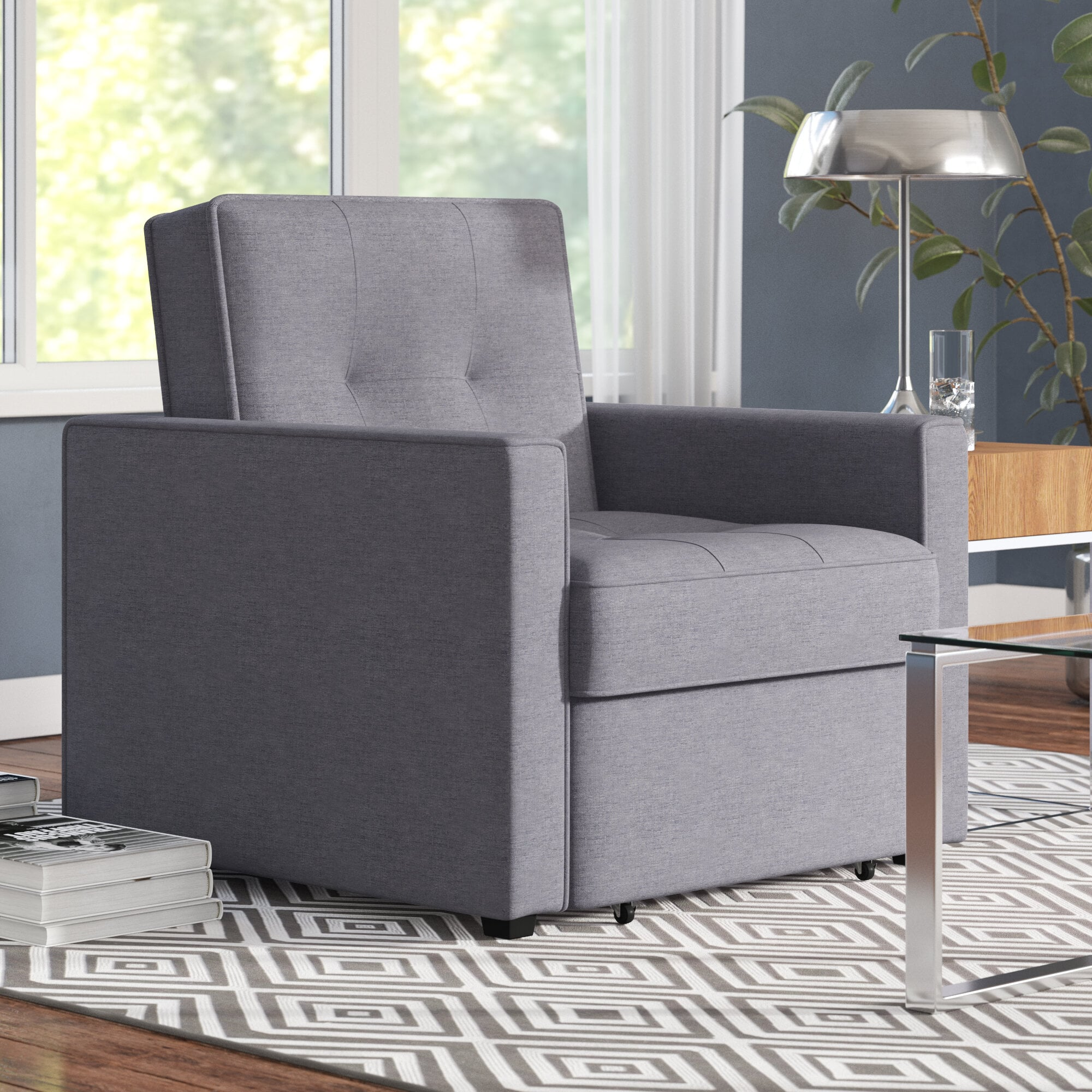 Space Saving Chairs That Turn Into Beds Popsugar Home