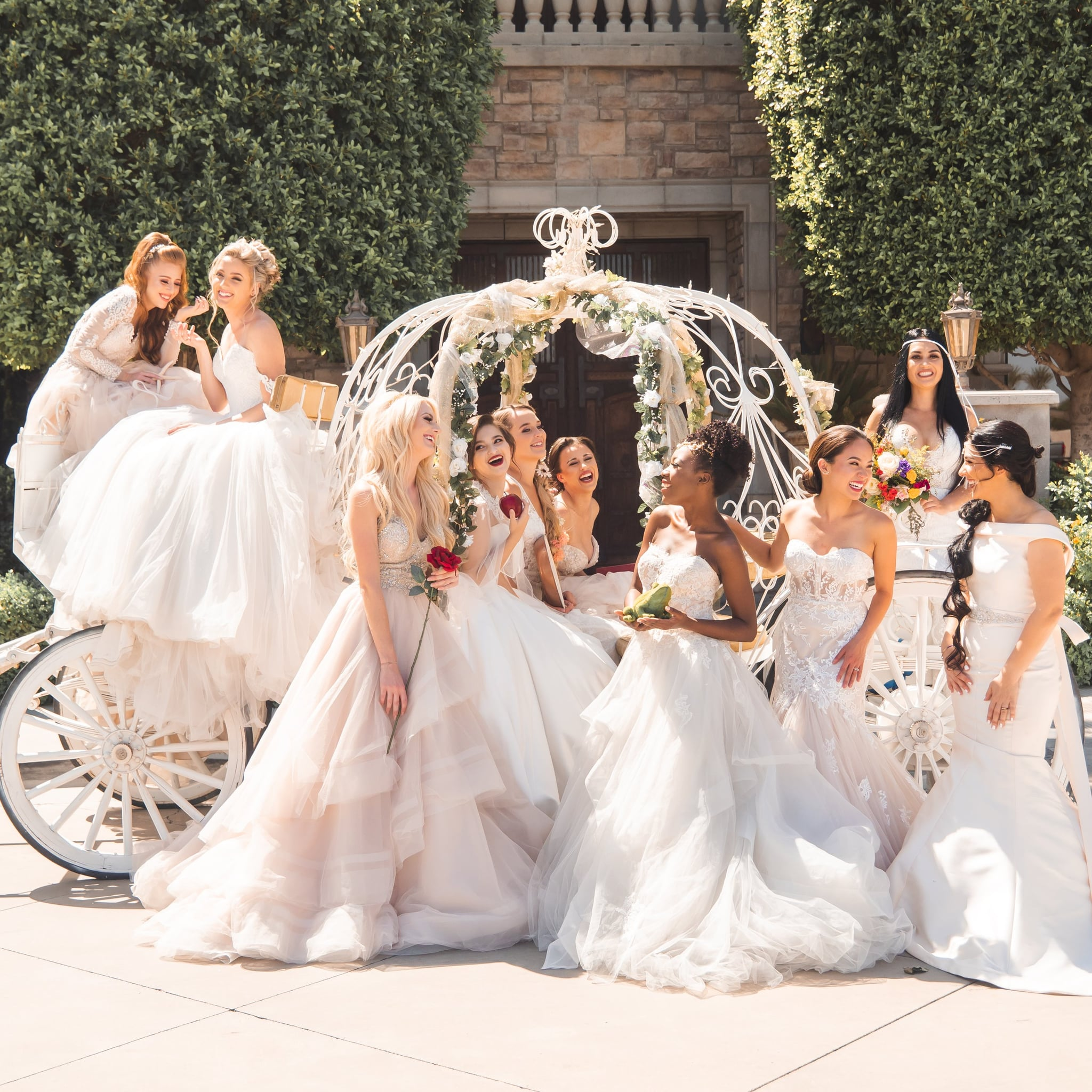 Disney Princess Themed Wedding Popsugar Love Sex