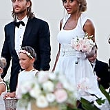 DJ David Guetta and his wife, Cathy, renewed their vows in Ibiza to celebrate their 20th wedding anniversary in August.