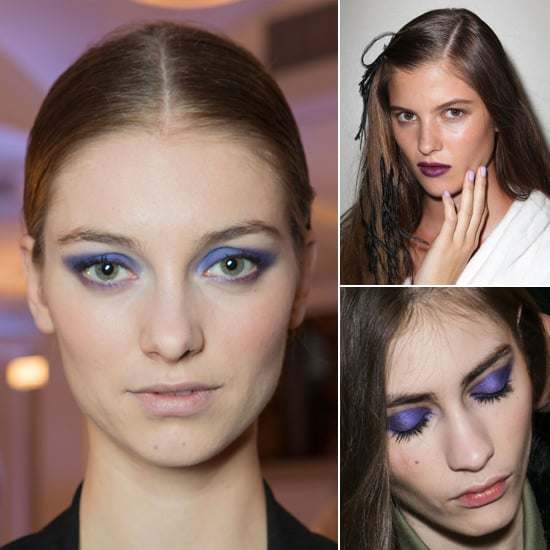 Purple Makeup For Fall 2013