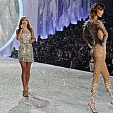5. Taylor Swift and Karlie Kloss perfectly complemented one another on the runway.