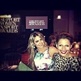 Jesinta Campbell hung out with Sally Obermeder at the I Support Women in Sport Awards. Source: Instagram user jesinta_campbell