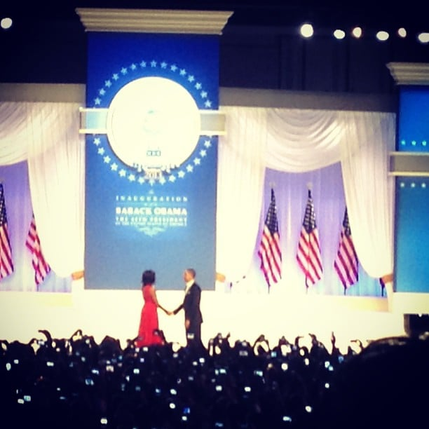 Barack and Michelle Obama were so romantic at the Commander in Chief Ball.