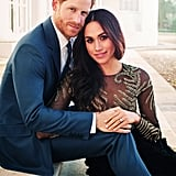 Prince Harry and Meghan Markle took their engagement pictures at the Frogmore Estate in 2017.