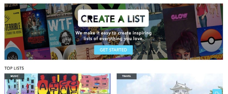 Use Tribalist to Curate Your Lists