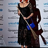 Arizona Muse was the chicest witch in town at the 2013 UNICEF Halloween Ball.