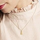Rachel Jackson London Art Deco Initial Necklace