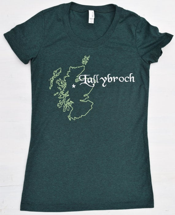 Embroidered Lallybroch Tee