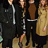 Ben Smith-Petersen, Riley Keough, Nicholas Hoult, and Rosanna Hoult
