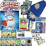 Captain Underpants Showbag ($26) Includes:  Toilet putty  Nerd glasses  Adventures of Captain Underpants book