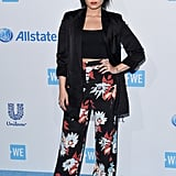 April at WE Day in Los Angeles