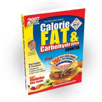A Must Have: The CalorieKing Calorie, Fat & Carbohydrate Counter