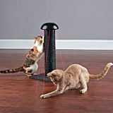 Laser Chasing Scratch Post