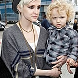 Ashlee Simpson Brings Bronx Out For a Lucky LA Day