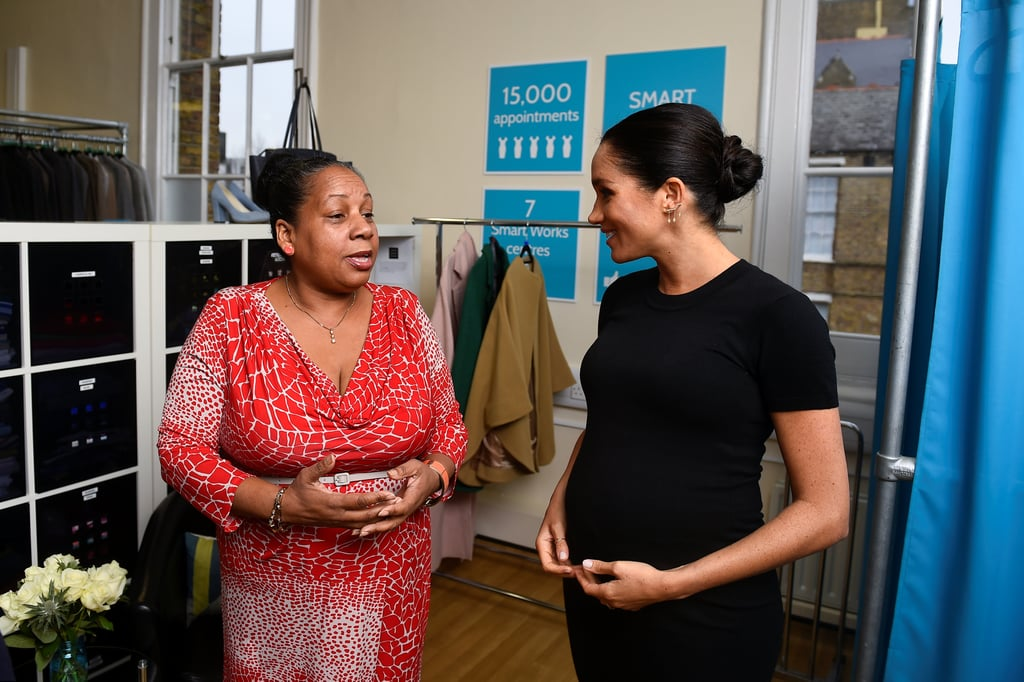 Meghan Markle Styling Women at Smart Works January 2019